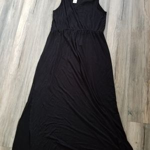 Apt 9 long black dress size xl new